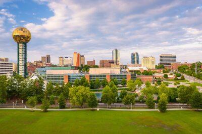 Knoxville Skyline serving medical waste generators
